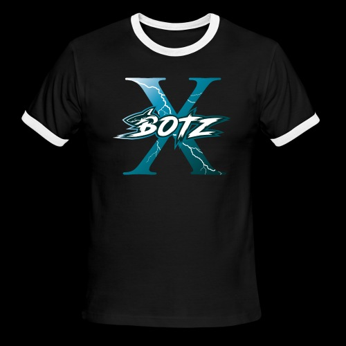 BOTZ X Logo Plain - Men's Ringer T-Shirt