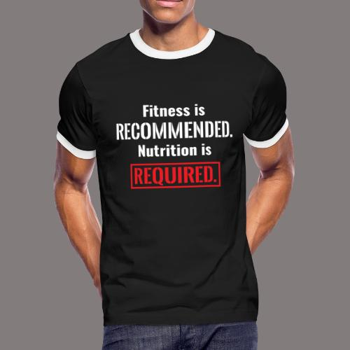 Mens_Nutrition - Men's Ringer T-Shirt