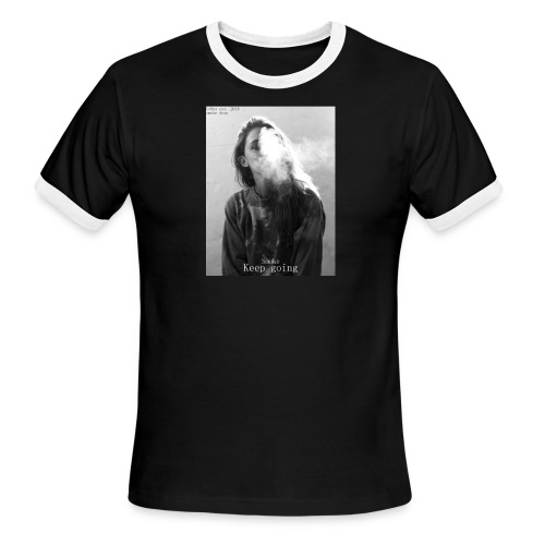 Cr0ss Smoke drop - Men's Ringer T-Shirt