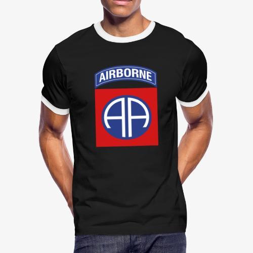 82nd Airborne Division - Men's Ringer T-Shirt