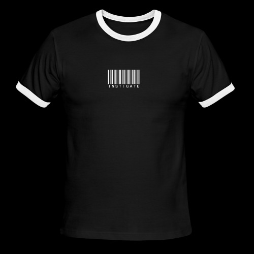 Instigate barcode - Men's Ringer T-Shirt