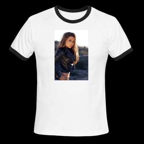 Rebecca Grant tuff and sexy - Men's Ringer T-Shirt