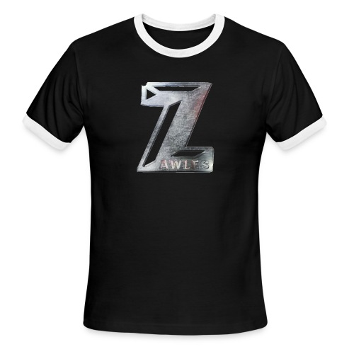 Zawles - metal logo - Men's Ringer T-Shirt