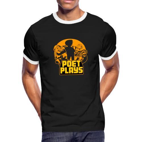 Poet Plays RETRO - Men's Ringer T-Shirt