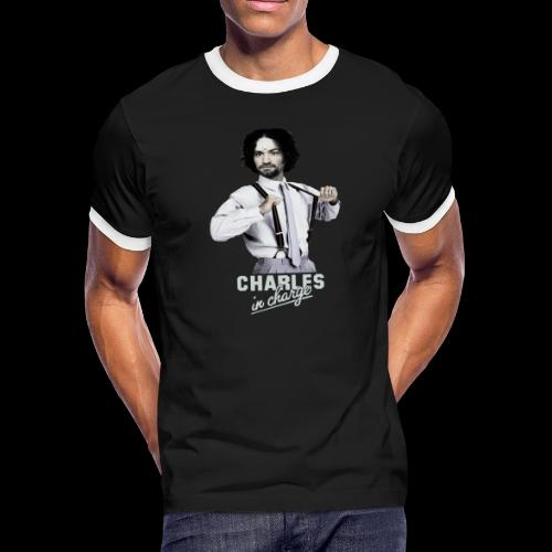 CHARLEY IN CHARGE - Men's Ringer T-Shirt