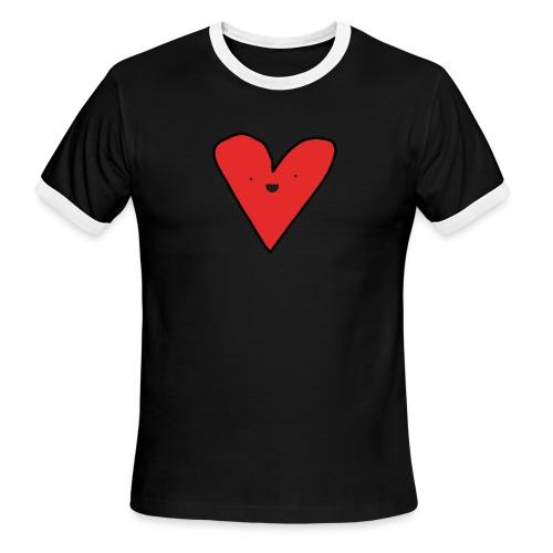 Heart - Men's Ringer T-Shirt