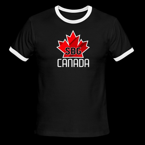 Team Canada SBG - Men's Ringer T-Shirt