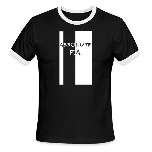 Absolute F(xxx) A(LL) - Men's Ringer T-Shirt