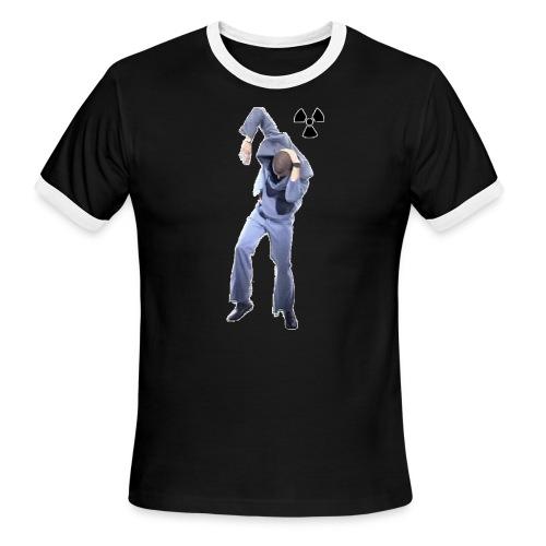 CHERNOBYL CHILD DANCE! - Men's Ringer T-Shirt