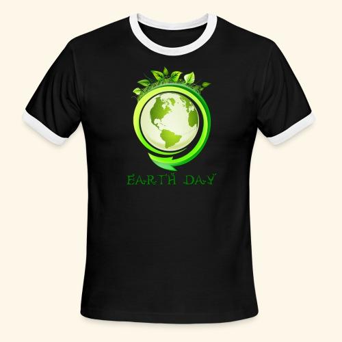 Happy Earth day - 2 - Men's Ringer T-Shirt