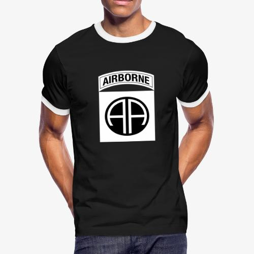 82nd Airborne Division OCP - Men's Ringer T-Shirt