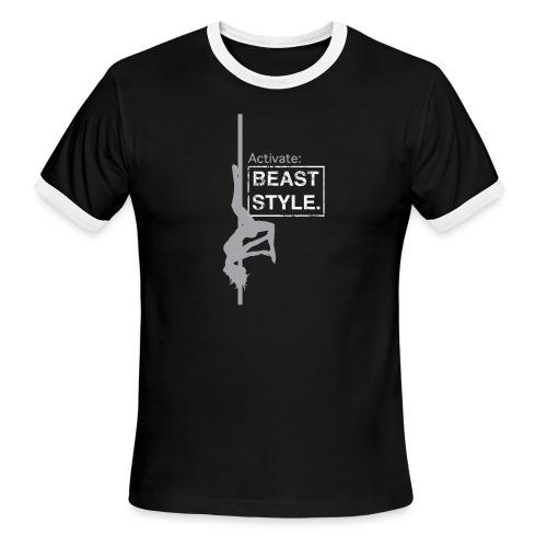 Activate: Beast Style - Men's Ringer T-Shirt