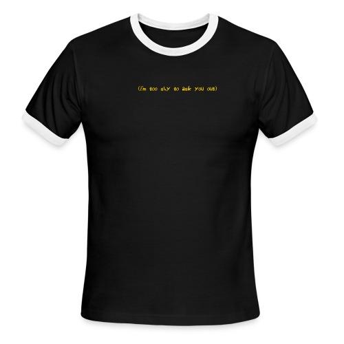 shy - Men's Ringer T-Shirt