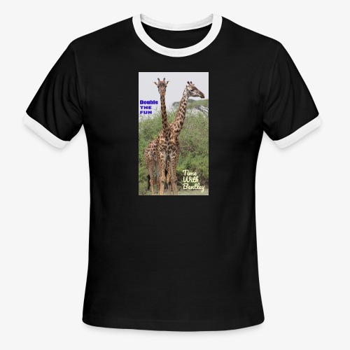 Two Headed Giraffe - Men's Ringer T-Shirt