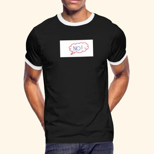 NO! - Grace Sakyi - Men's Ringer T-Shirt