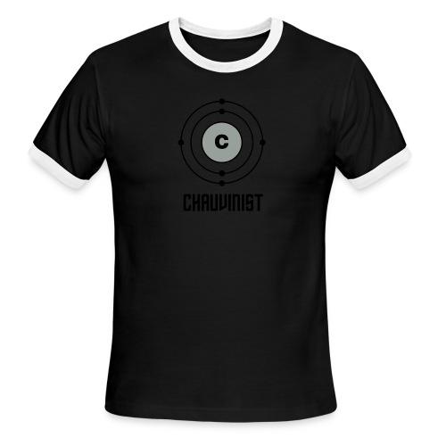 Carbon Chauvinist Electron - Men's Ringer T-Shirt