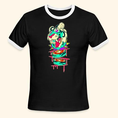 - Decaptiger - - Men's Ringer T-Shirt