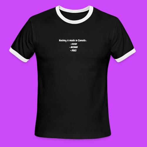 Ineffable Hockey Hoodies 2 - Men's Ringer T-Shirt