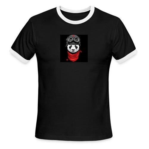 Panda - Men's Ringer T-Shirt