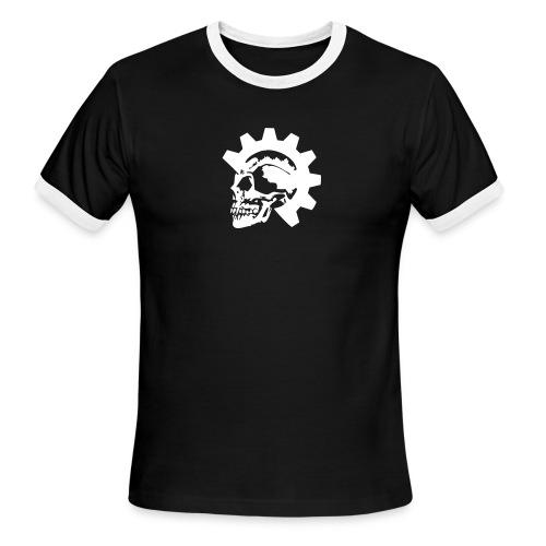 Gearhead Skull - Men's Ringer T-Shirt