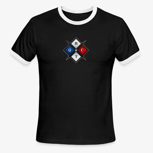 RTQC Logo - Men's Ringer T-Shirt