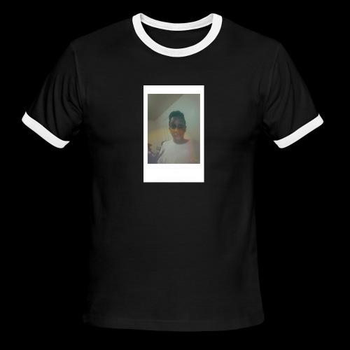 White Instant Photo - Men's Ringer T-Shirt