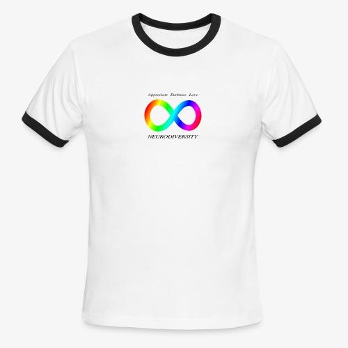 Embrace Neurodiversity - Men's Ringer T-Shirt