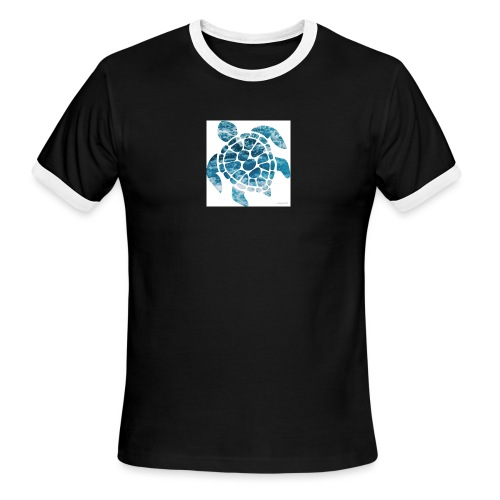 turtle - Men's Ringer T-Shirt