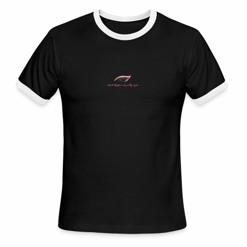 thick thighs & pretty eyes - Men's Ringer T-Shirt