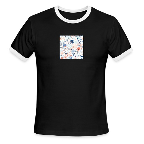 flowers - Men's Ringer T-Shirt