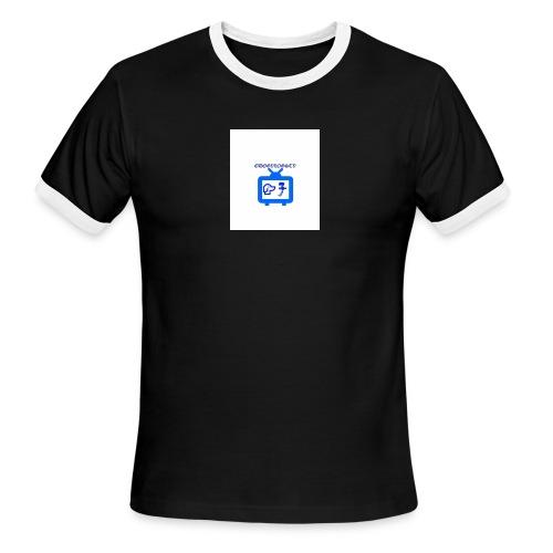 OdogVlogsTv Offical Logo - Men's Ringer T-Shirt