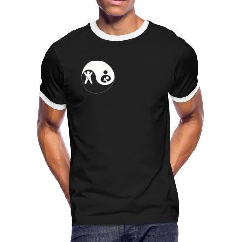 GA BF Yin Yang White - Men's Ringer T-Shirt
