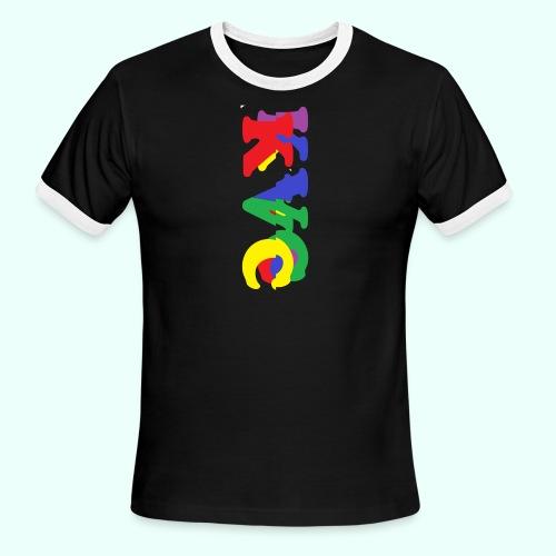 1 - Men's Ringer T-Shirt