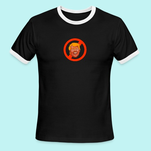 Dump Trump - Men's Ringer T-Shirt