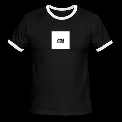 2914 Records Shirt 2018 - Men's Ringer T-Shirt