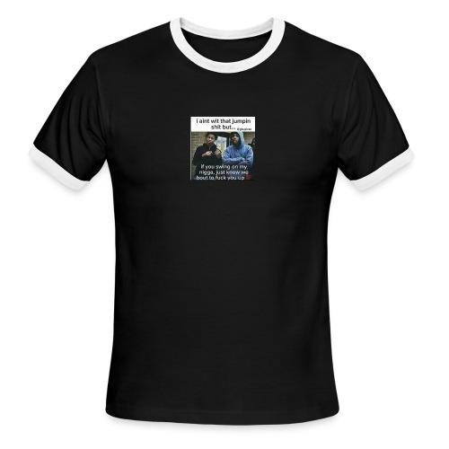 Friends down for friends - Men's Ringer T-Shirt
