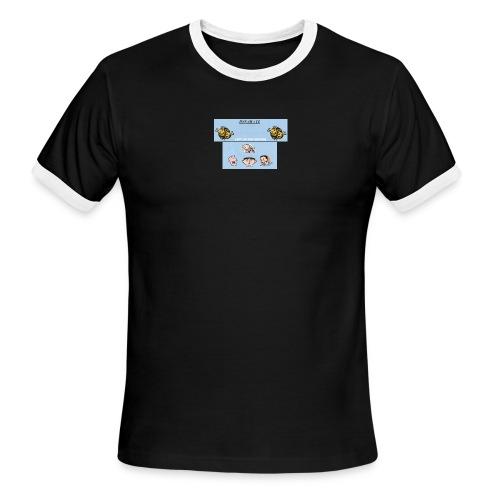 LEFT ON THE OUTSIDE men's lightweight aa ringer - Men's Ringer T-Shirt