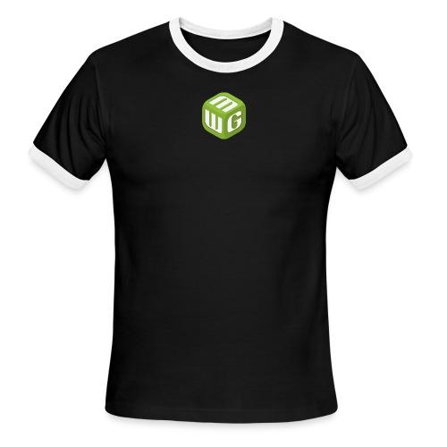 MiniWarGaming T-Shirt (L) Men's Fruit of the Loom - Men's Ringer T-Shirt