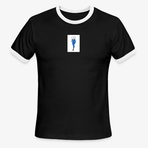 HANDSOME DEVIL TEE - Men's Ringer T-Shirt