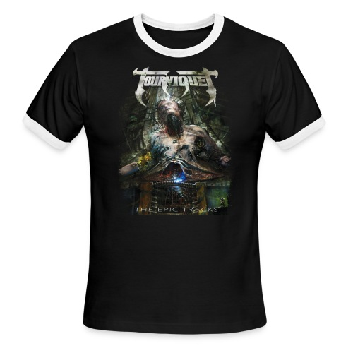 The Epic Tracks v2 - Men's Ringer T-Shirt