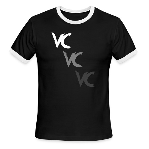 V3L0C1TY Logo Mugs & Drinkware - Men's Ringer T-Shirt