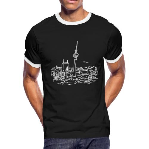 Panorama of Berlin - Men's Ringer T-Shirt