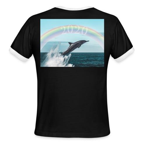 dolphin - Men's Ringer T-Shirt