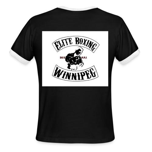 Winnipeg Elite SOA logo - Men's Ringer T-Shirt