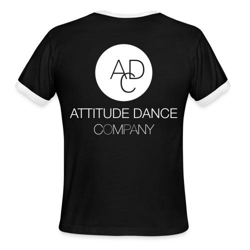 ADC Logo - Men's Ringer T-Shirt
