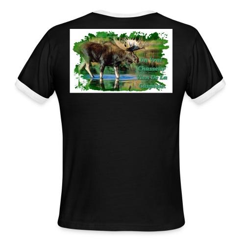 Chasseur Gaspésie - Men's Ringer T-Shirt