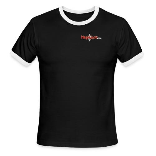 NC Logo for Dark Products - Men's Ringer T-Shirt