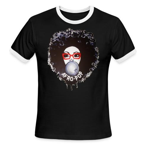 Afro pop_ - Men's Ringer T-Shirt