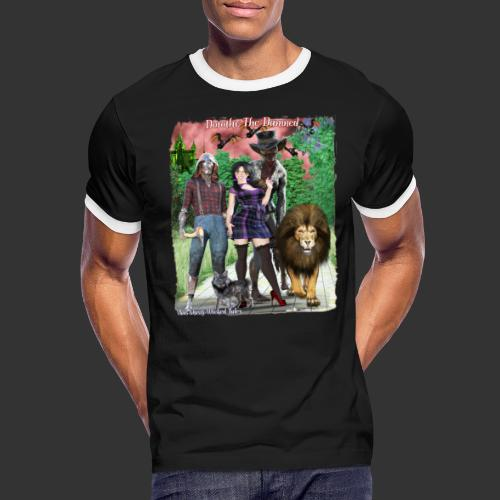 Ghastly Wicked Tales Vampire Dorothy The Damned - Men's Ringer T-Shirt
