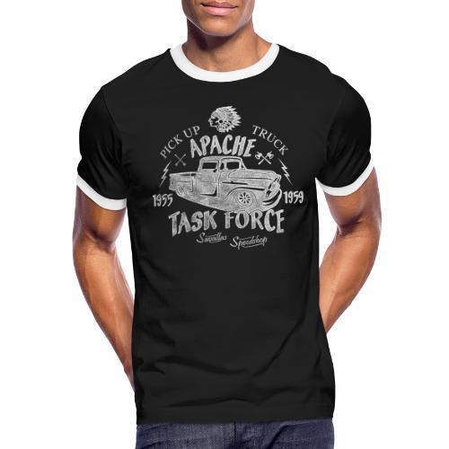 Chevy Pick Up Truck - Task Force - Men's Ringer T-Shirt